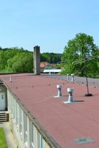 Střecha školky Dublovice